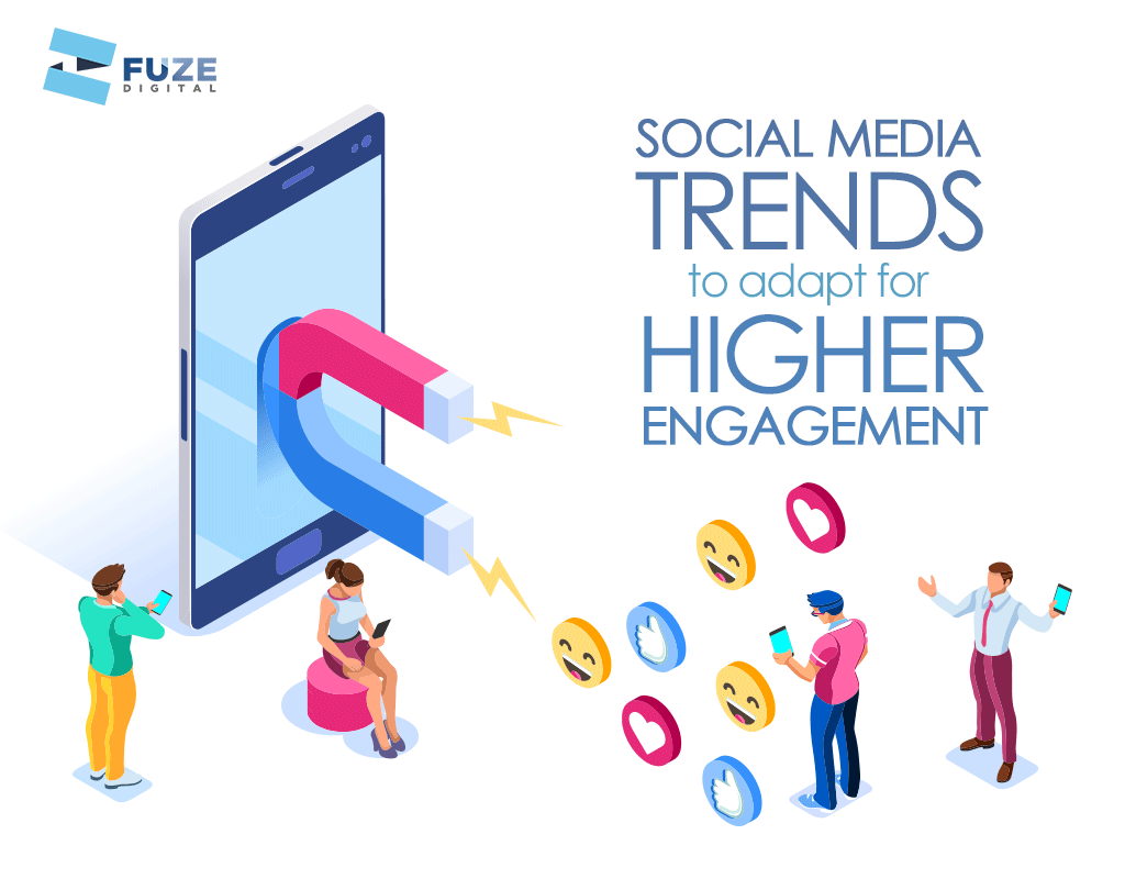 SOCIAL MEDIA TRENDS TO ADAPT FOR HIGHER ENGAGEMENT - Rising Tide