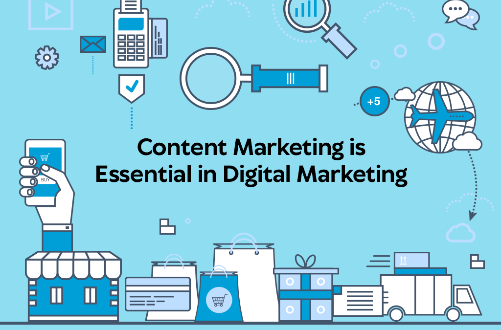 FACT: CONTENT MARKETING IS ESSENTIAL IN DIGITAL MARKETING