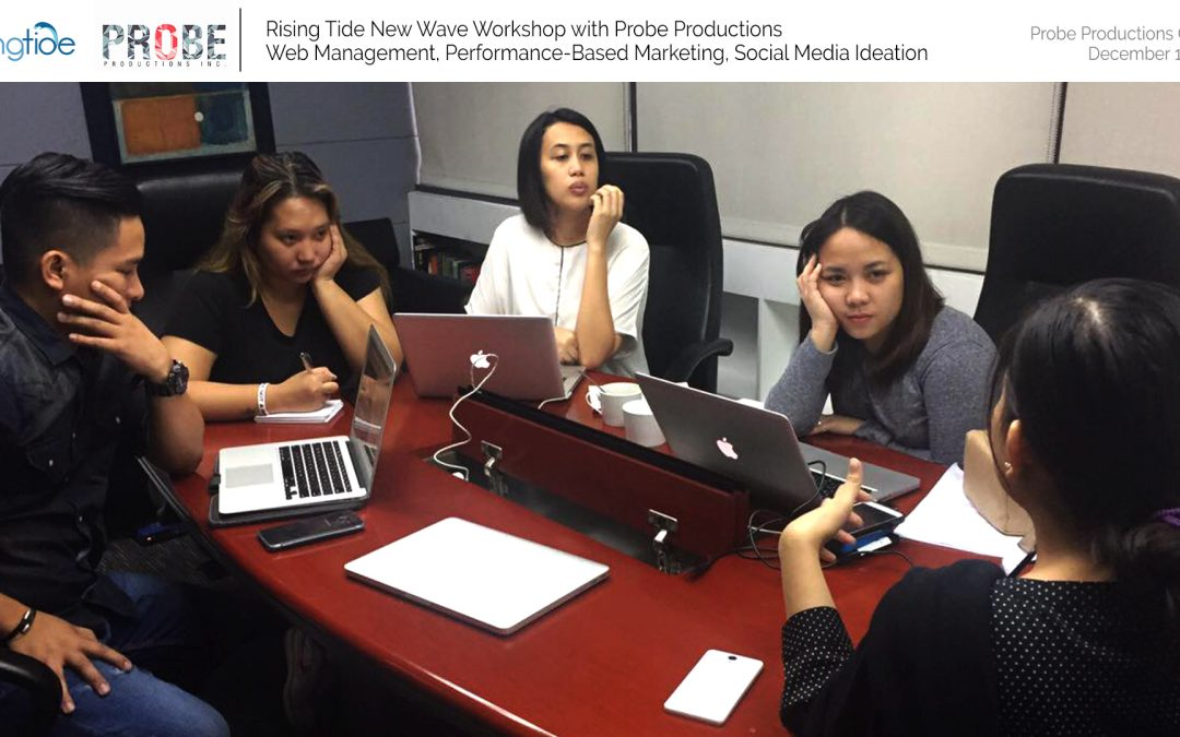 New Wave Workshop with Probe Productions