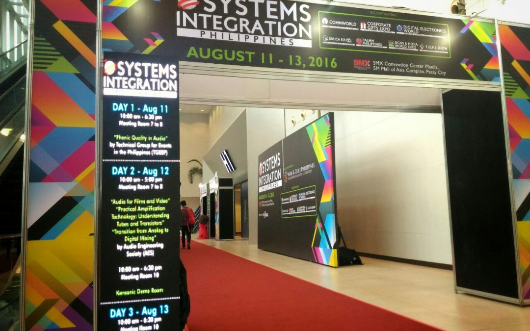 Rising Tide attends Systems Integration Philippines